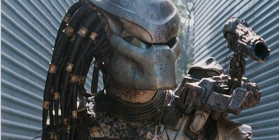 Check out this early Predator helmet concept design!