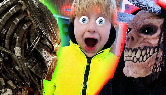 Hilarious Predator Fan Film Pits a Kid Predator Against Krampus!