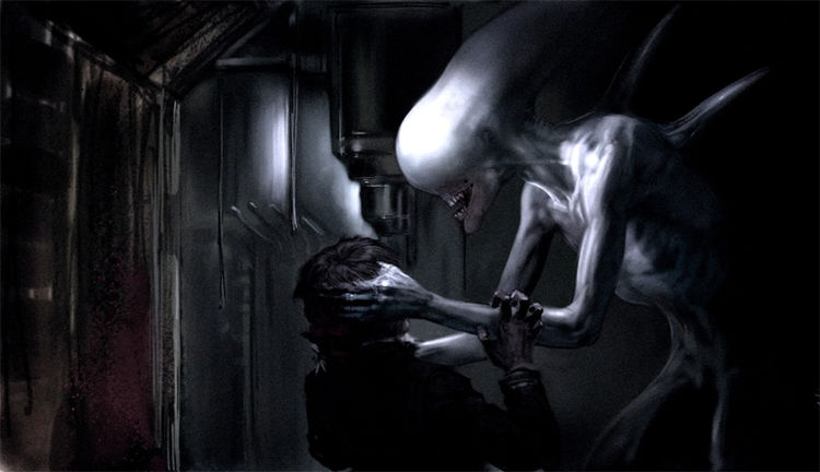Does anyone know how to see the new footage coming out on AlienDay without going to the screening?