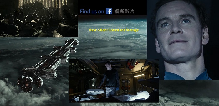 New AWESOME Alien: Covenant footage revealed in new TV Spots! (spoilers)