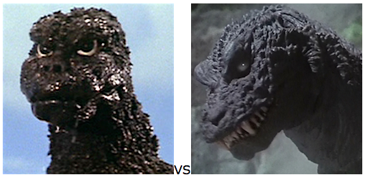 GODZILLA DESIGN TOURNAMENT - Round 3 - 1974 vs. 2001