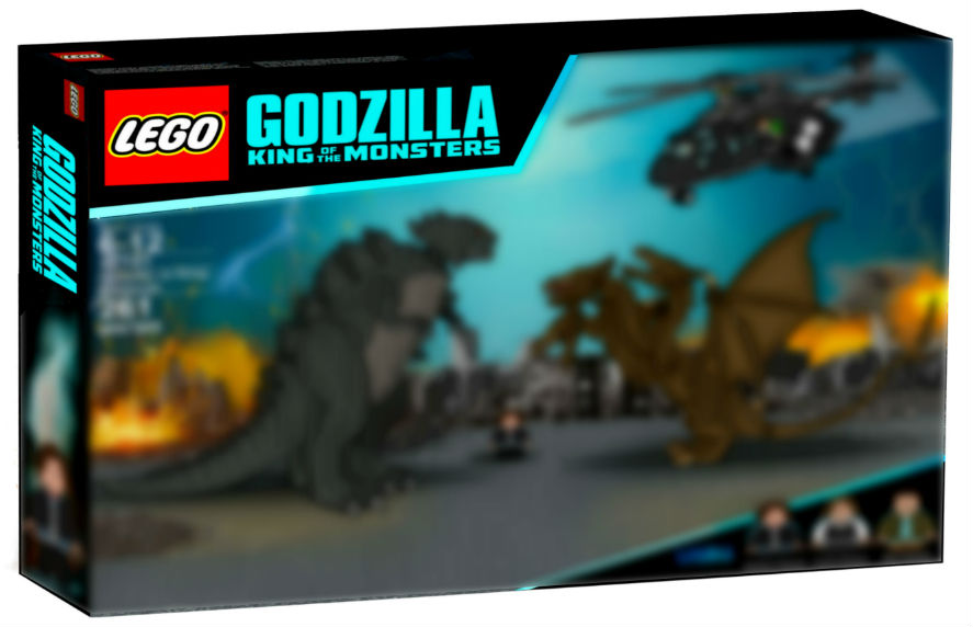 Custom Lego Godzilla King of the Monsters Set !!!