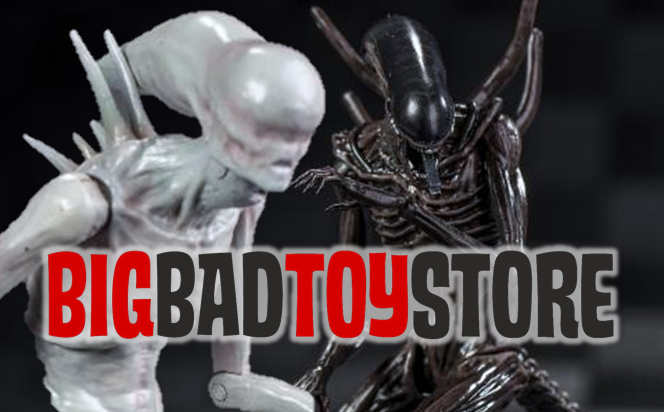 Alien: Covenant Xenomorph and Neomorph 1/18 scale figures