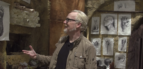 Adam Savage takes us on a behind the scenes tour of David's Lab.