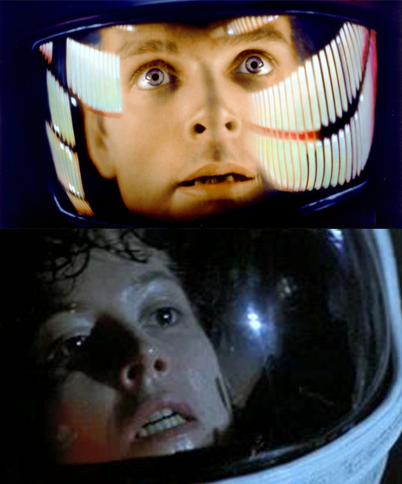 2001 Space Odyssey and Alien parallels