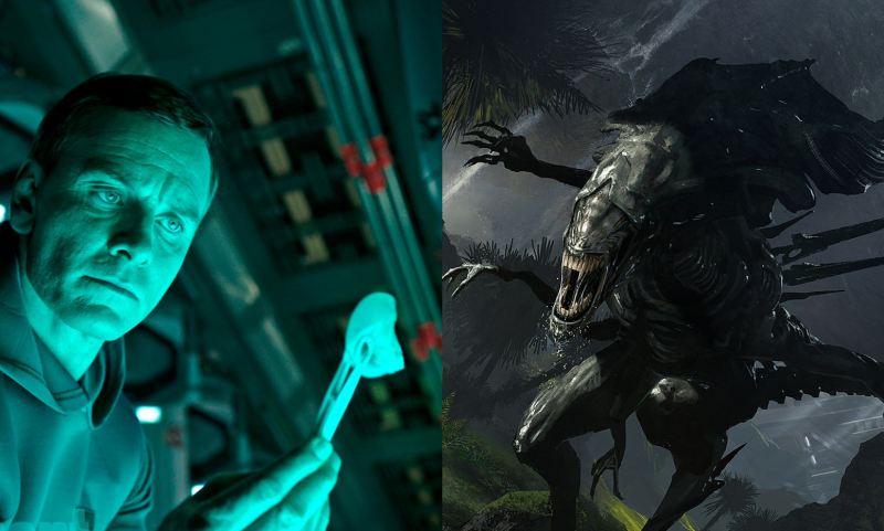 Continue the Alien prequels or start fresh with a new story?
