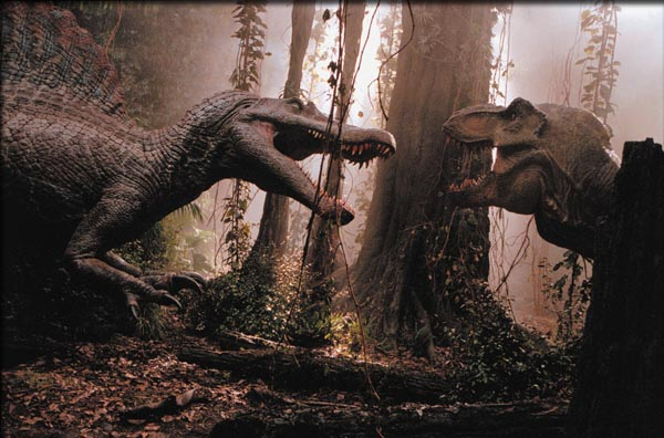 Indominus Rex vs. Jurassic Park Spinosaurus - Who Would Win?