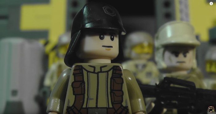 Alien Covenant Trailer: Lego Style