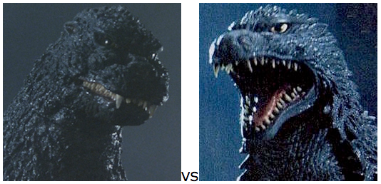 GODZILLA DESIGN TOURNAMENT - Round 14 - 1989 vs. 2002