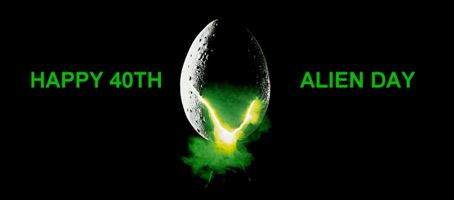 Happy 40th Alien Day Scified