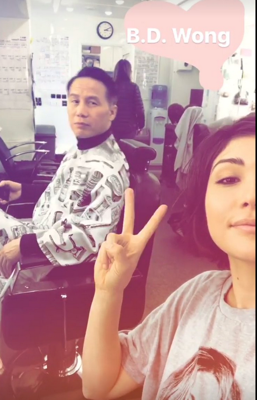 Could Daniella Pineda's character be Dr. Wu's daughter or at the very least is working for him?