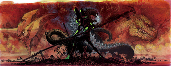 Is Shin Gojira's Atomic Breath a hidden Evangelion reference?