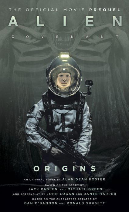 READ: EXCLUSIVE EXCERPT FROM ALAN DEAN FOSTER'S NEW ALIEN: COVENANT - ORIGINS