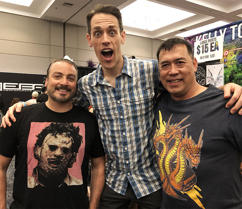 Son of Monsterpalooza 2018 - Godzilla was there!