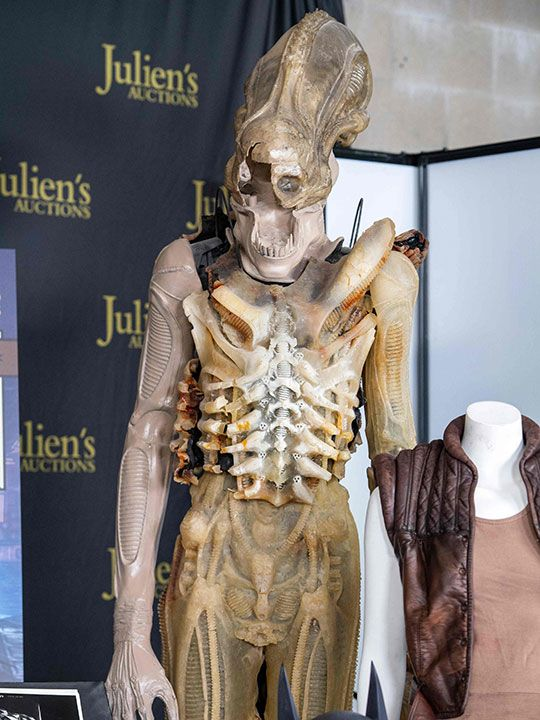 Auction: Translucent prototype Big Chap costume created by Giger