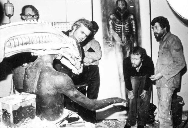 Alien: H.R. Giger, Ridley Scott, Xenomorph classic photos