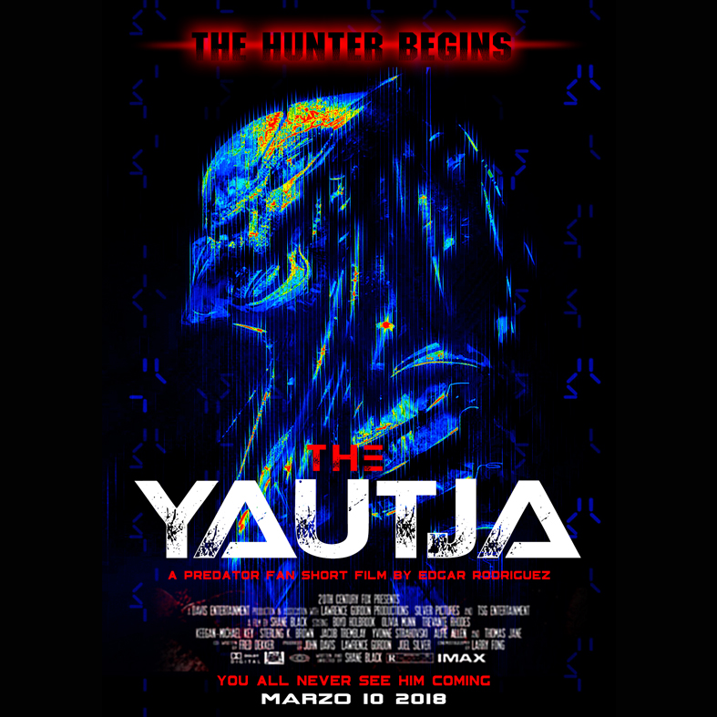 THE YAUTJA by Edgar El Águila Rodriguez