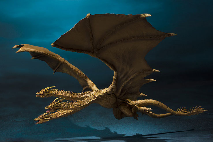 S.H. Monsterarts Ghidorah.....