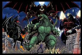 Who was Godzillas most Powerful Enimes