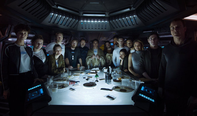 Favourite characters in Alien Covenant