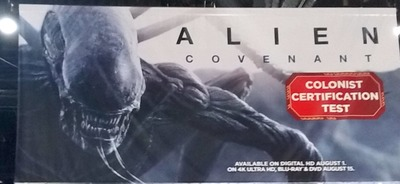 The Alien: Covenant Experience at San Diego Comic Con!