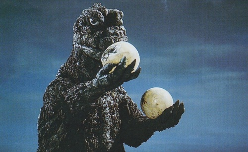See What the Easter Bunny Left for Godzilla