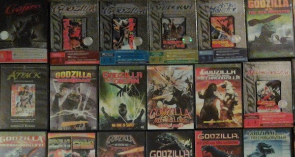 List of Godzilla and Related DVDs/Bluray CURRENTLY Available
