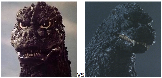 GODZILLA DESIGN TOURNAMENT - Round 20 - 1975 vs. 1989