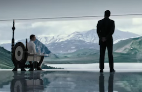 Is This Walter Being Briefed About The Lost Prometheus Mission?