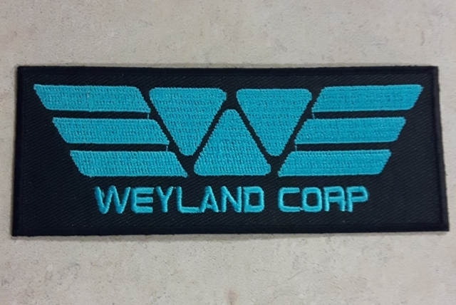 Alien: Covenant Forum Giveaway: Embroidered Weyland Patch!