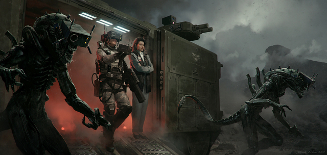 Alien covenant connecting to Alien 5 speculation draft