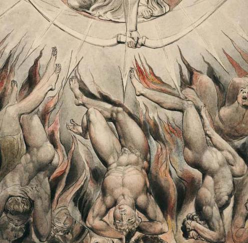 William Blake's Paradise Lost Painting