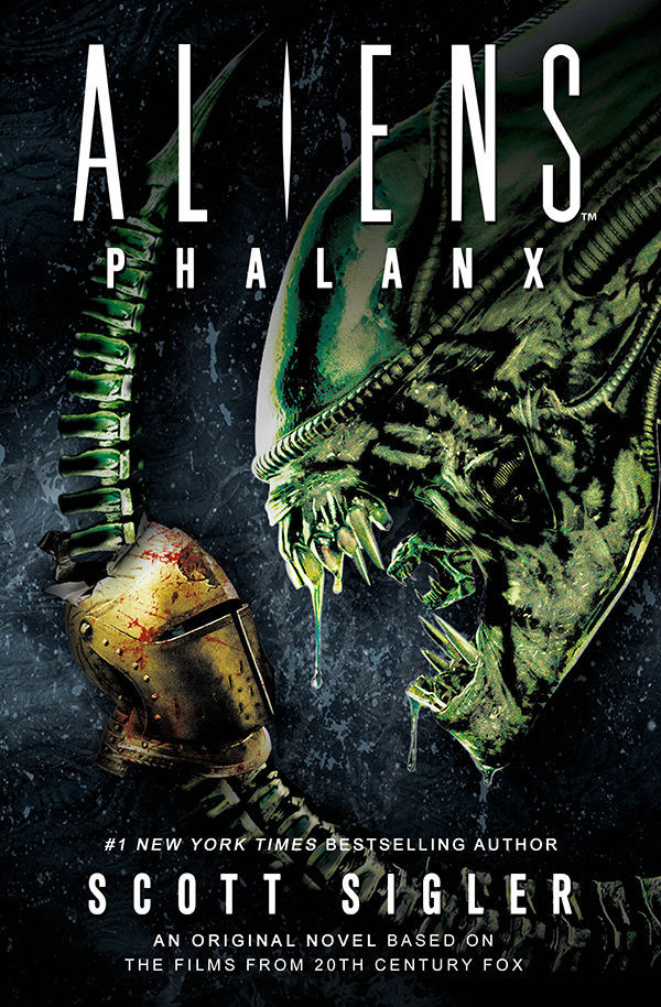 Aliens: Phalanx - a new novel by Scott Sigler