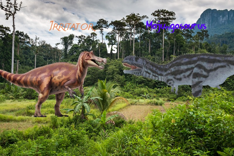 Irritator Vs. Majungasaurus (EDB Season 2 Part.4)