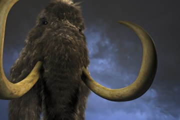 One of the new titans...  A wooly mammoth?
