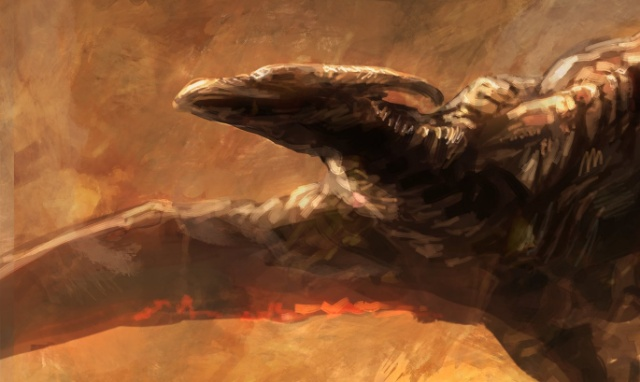 Godzilla: KOTM Rodan fan art hits the web!
