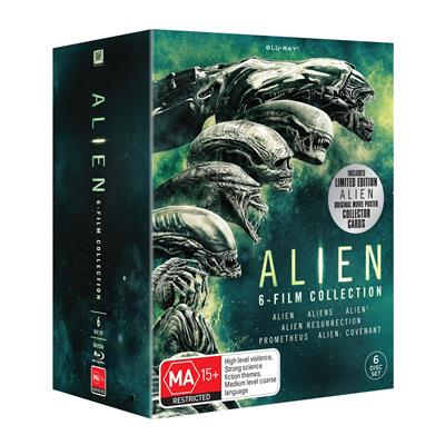 The new Limited Edition Alien Anthology 6-disc Blu-Ray!