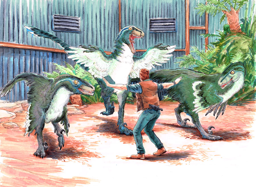 Feathered Dinosaurs in Future Jurassic Park Movies Discussions/Debates