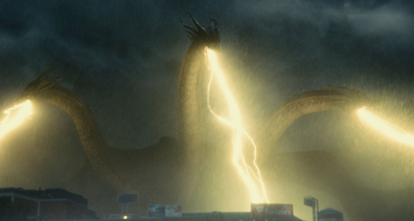King Ghidorah: biologically engineered Terra-forming engine?