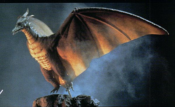 Why can't Rodan fly to outer space?