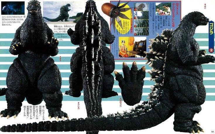 Cool Godzilla Images/Food for Thought