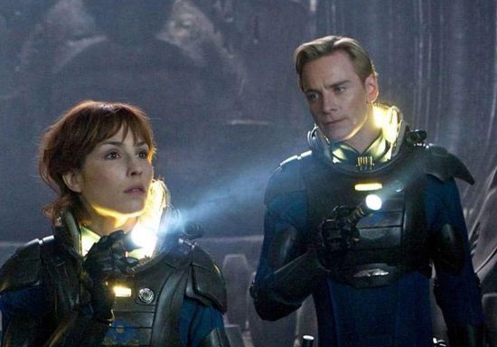 Our versions of the Shaw and David storyline between Prometheusn and Covenat