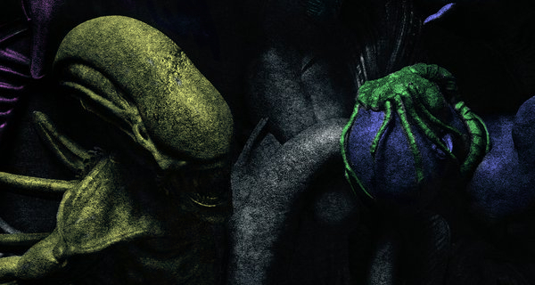 Decoding the Alien Covenant poster in color