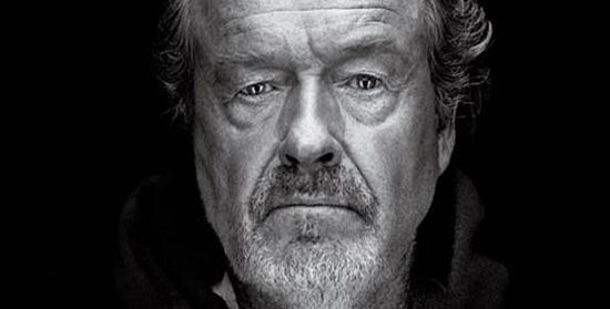 Ridley Scott Does not think god created us