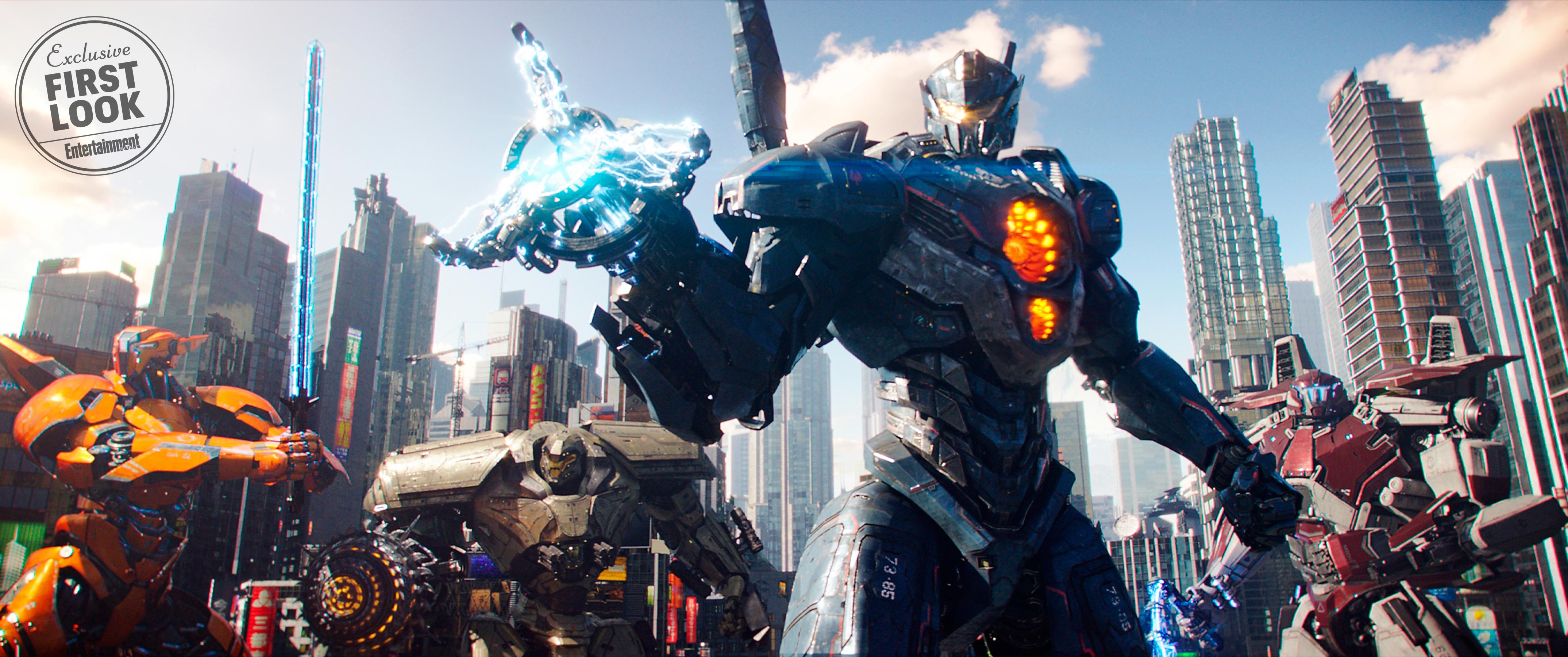 New Hd Photos Of Pacific Rim Uprising Jaegers Released Pacific