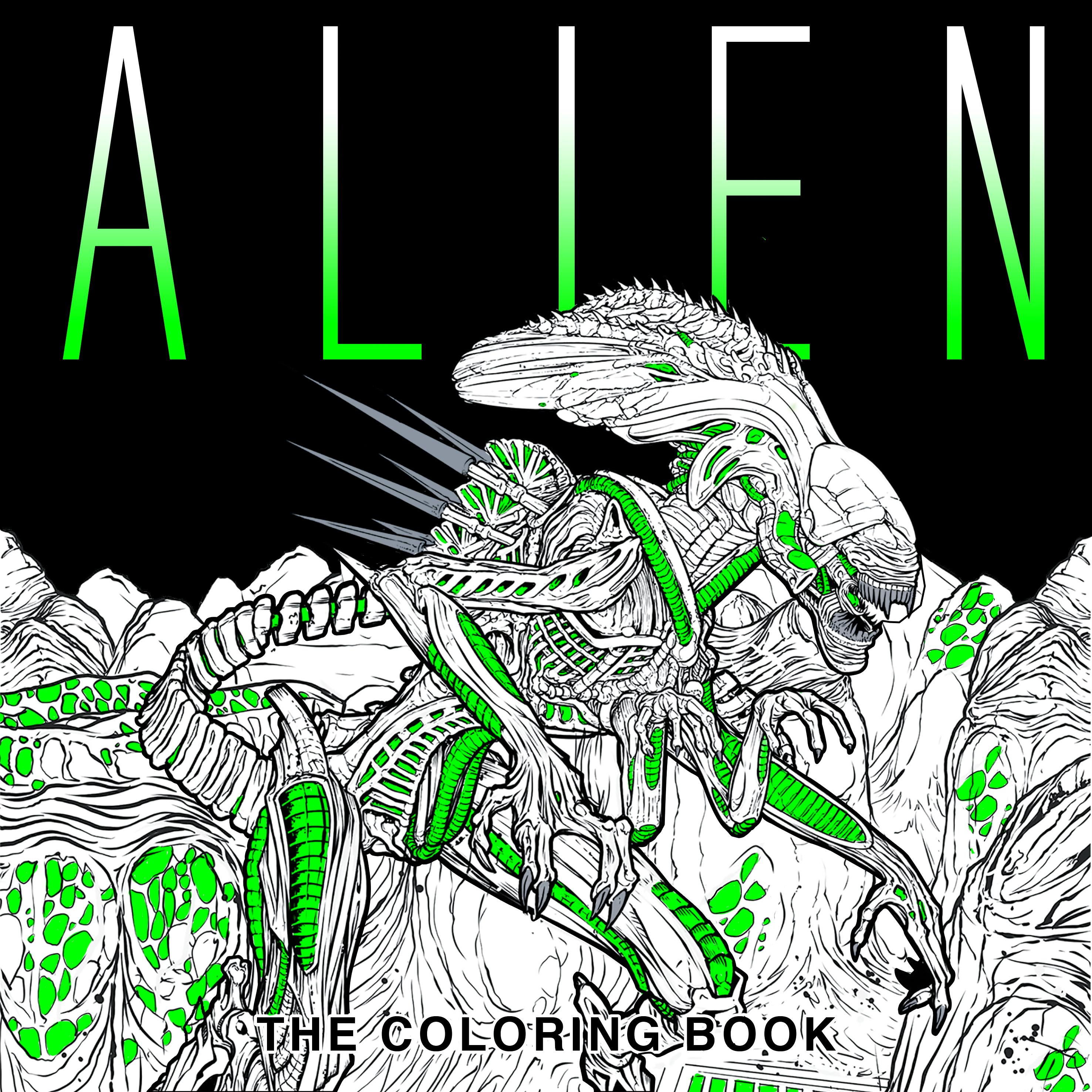 NEWS) Alien: The Coloring Book - Alien: Covenant & Sequel Movie News