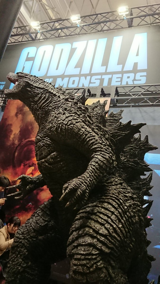 New Godzilla 2019 Statue Unveiled! - Godzilla 2 Movie News Vera Farmiga
