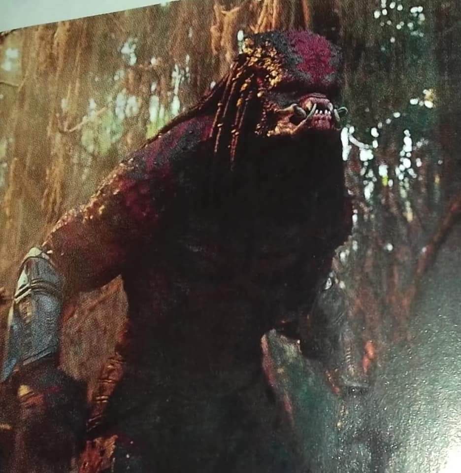 New Look At Evolved Super Predator From The Predator The Predator