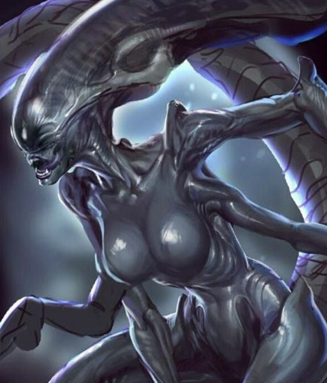 Alien female porn photo sex comics