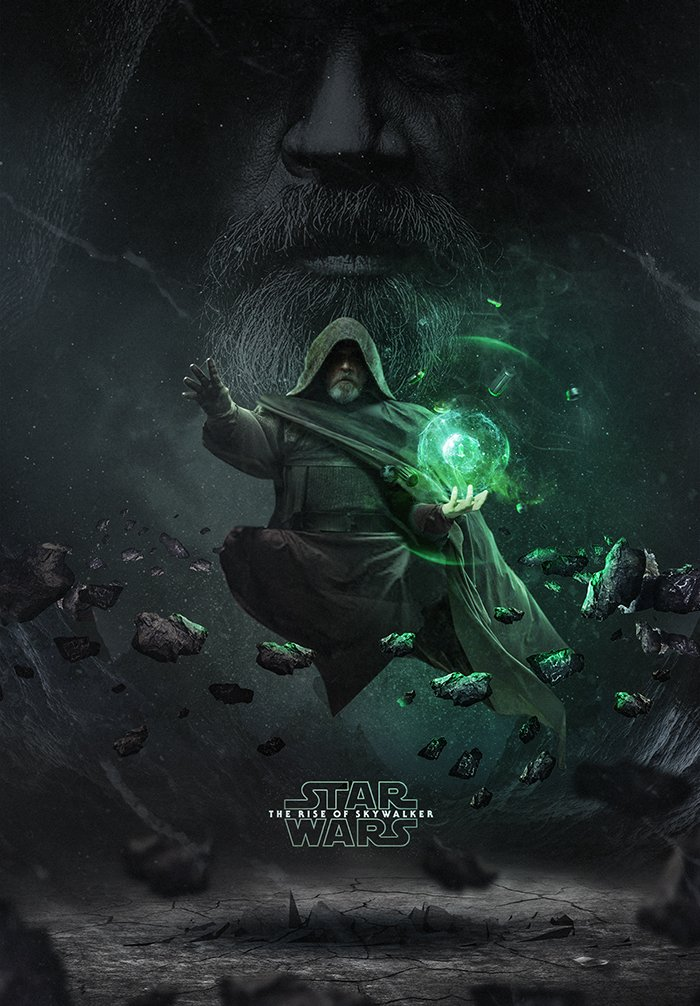 Bosslogic Unveils Epic Star Wars The Rise Of Skywalker Poster Art Star Wars The Rise Of Skywalker Movie News